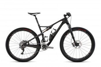 Велосипед Specialized S-Works Epic Carbon 29 (2015) / Черно-белый