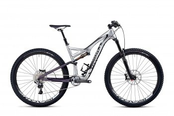 Велосипед Specialized S-Works Stumpjumper FSR Carbon Evo 29 (2014) / Серебристый