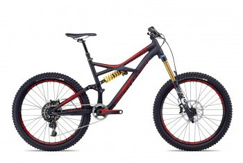 Велосипед Specialized Enduro Expert Evo (2014) / Черно-красный