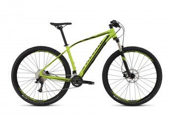 Велосипед Specialized Rockhopper Expert 29 (2015) / Салатово-черный
