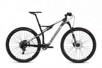 Велосипед Specialized Epic Comp Carbon 29 World Cup (2016) / Черно-белый