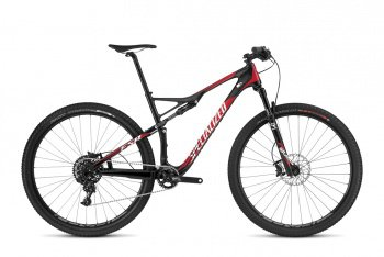 Велосипед Specialized Epic Elite Carbon 29 World Cup (2016) / Черно-красный