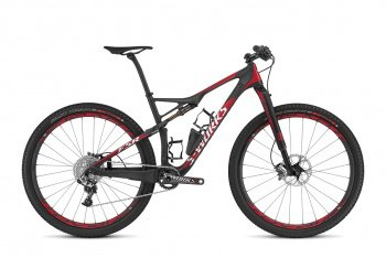 Велосипед Specialized S-Works Epic Carbon 29 World Cup (2016) / Черно-красный