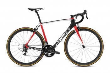 Велосипед Specialized S-Works Tarmac Dura-Ace (2016) / Черно-красный