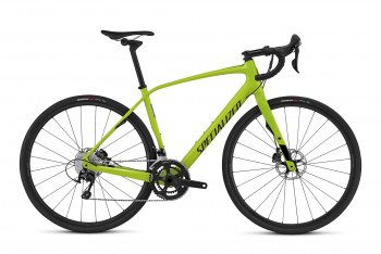 Велосипед Specialized Diverge Comp Carbon Euro (2016) / Салатовый
