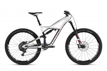 Велосипед Specialized Enduro Expert Carbon 650b (2016) / Сине-белый