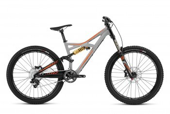Велосипед Specialized Enduro Expert Evo 650b (2016) / Серо-оранжевый