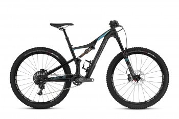 Велосипед Specialized Rhyme Expert Carbon 650b (2016) / Серо-бирюзовый