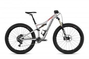 Велосипед Specialized Rhyme Expert Carbon 6Fattie (2016) / Серо-коралловый