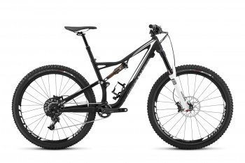 Велосипед Specialized Stumpjumper FSR Elite 650b (2016) / Черно-белый