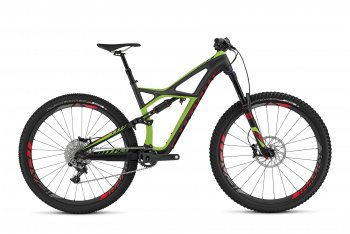 Велосипед Specialized S-Works Enduro Carbon 29 (2016) / Черно-зеленый