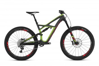 Велосипед Specialized S-Works Enduro Carbon 650b (2016) / Черно-зеленый