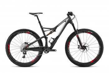 Велосипед Specialized S-Works Stumpjumper FSR Carbon 29 (2016) / Темно-серый