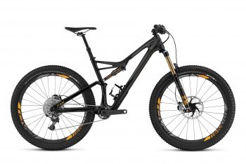 Велосипед Specialized S-Works Stumpjumper FSR Carbon 6Fattie (2016) / Черный