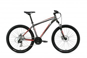 Велосипед Specialized Hardrock Disc SE 26 (2015) / Серо-красный