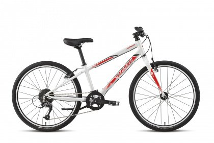Велосипед Specialized Hotrock 24 SL Boys (2015) / Бело-красный