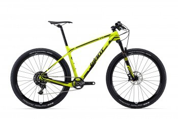 Велосипед Giant XTC Advanced SL 27.5 1 (2016) / Желтый