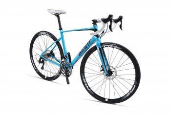 Велосипед Giant Defy 1 Disc (2016) / Синий