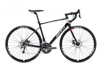 Велосипед Giant Defy 2 Disc (2016) / Черный