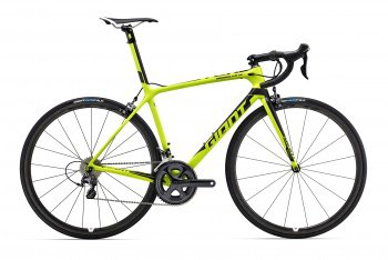 Велосипед Giant TCR Advanced SL 2 (2016) / Желтый